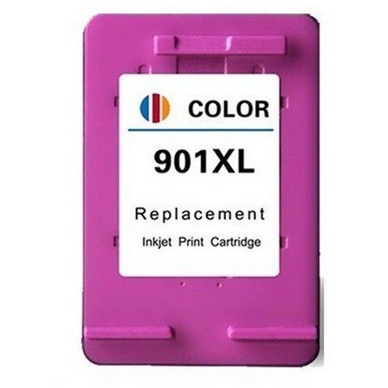 HP CC656AN Color Ink Cartridge-HP #901XL