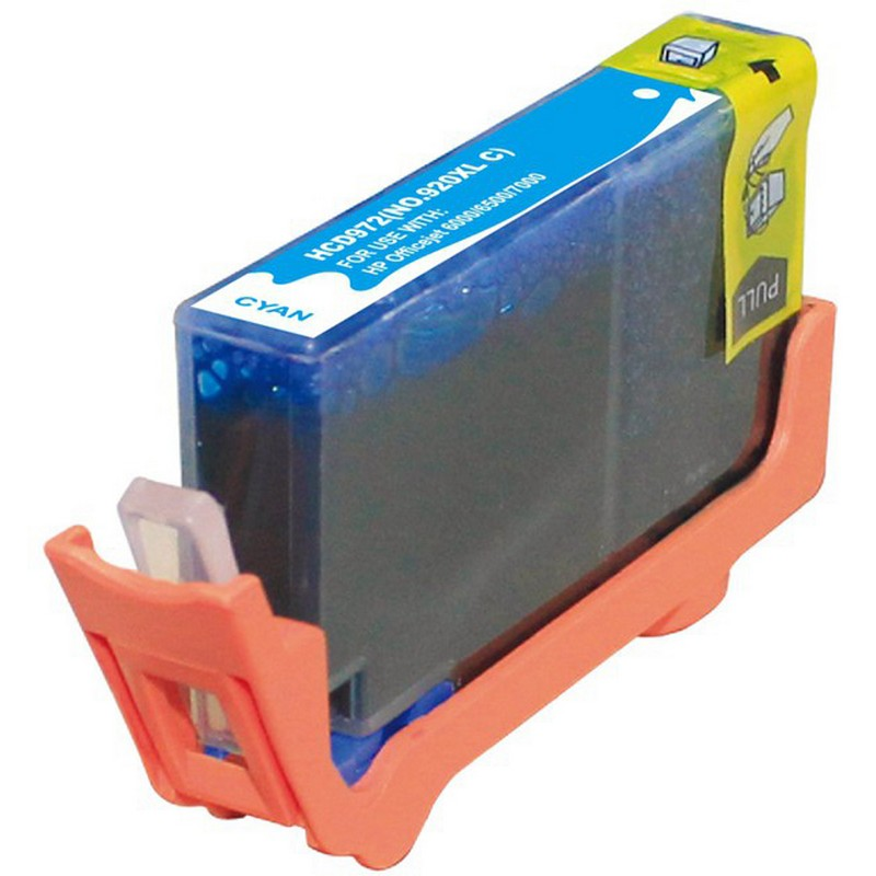 HP CD972AN Cyan Ink Cartridge-HP #920XLC