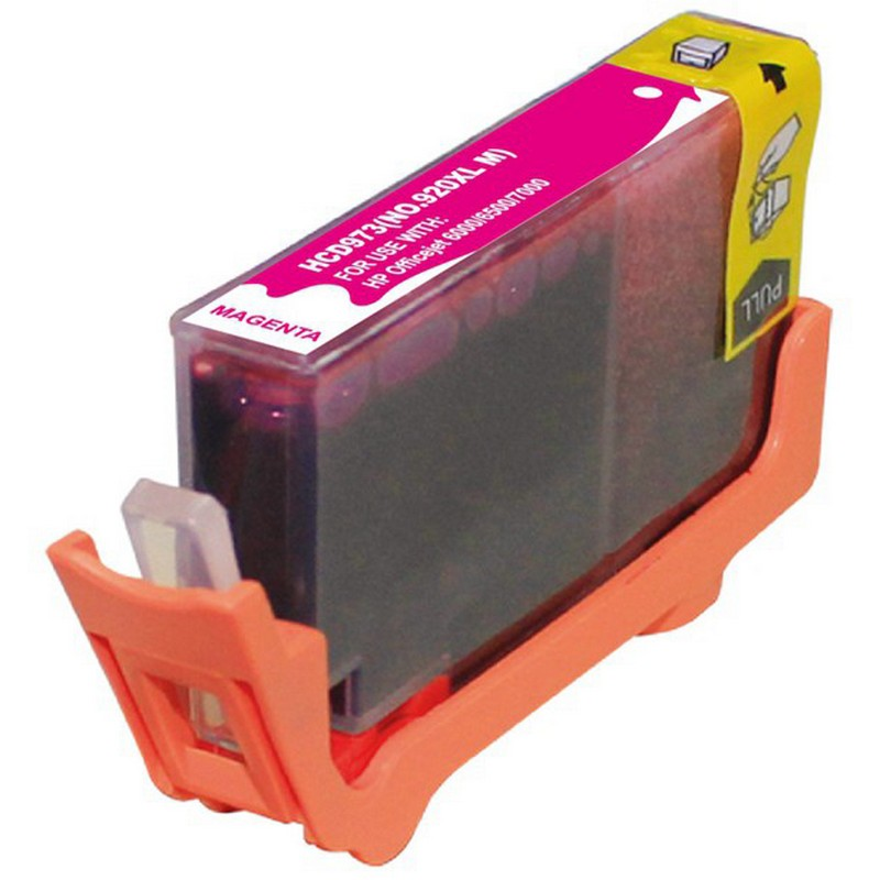 HP CD973AN Magenta Ink Cartridge-HP #920XLM