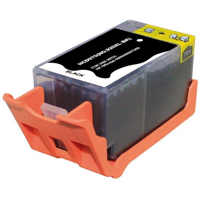 HP CD975AN Black Ink Cartridge-HP #920XLB