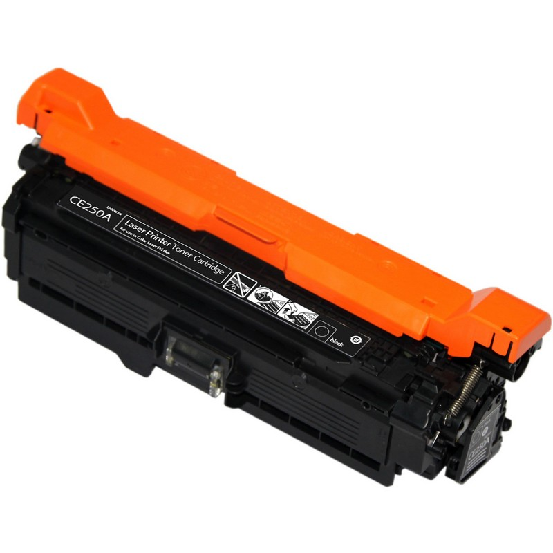 HP CE250A Black Toner Cartridge-HP 504A