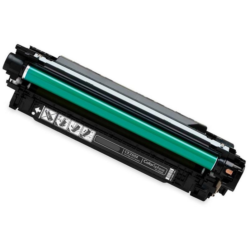 HP CE250X Black Toner Cartridge-HP 504X