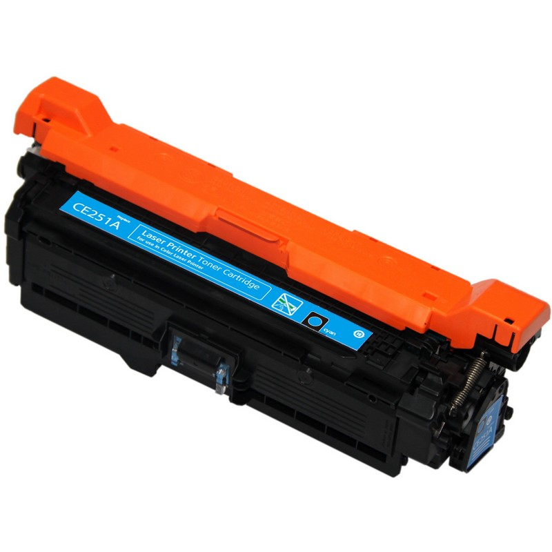 HP CE251A Cyan Toner Cartridge-HP 504A