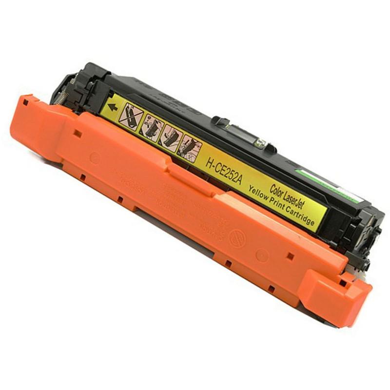 HP CE252A Yellow Toner Cartridge-HP 504A