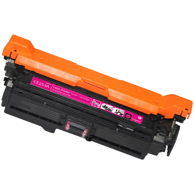 HP CE253A Magenta Toner Cartridge-HP 504A