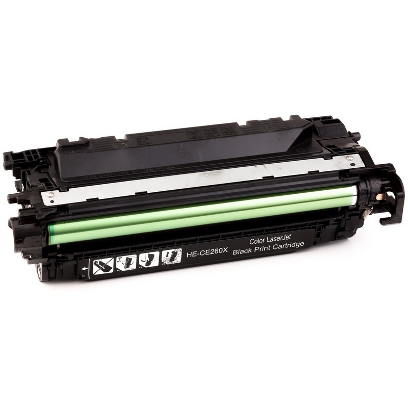 HP CE260X Black Toner Cartridge