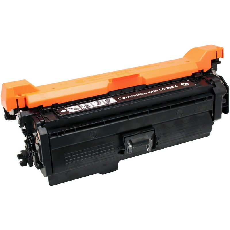 HP CE264X Black Toner Cartridge-HP 646X