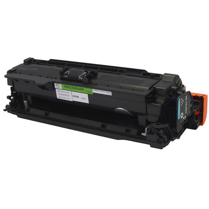 HP CE400A Black Toner Cartridge-HP 507A
