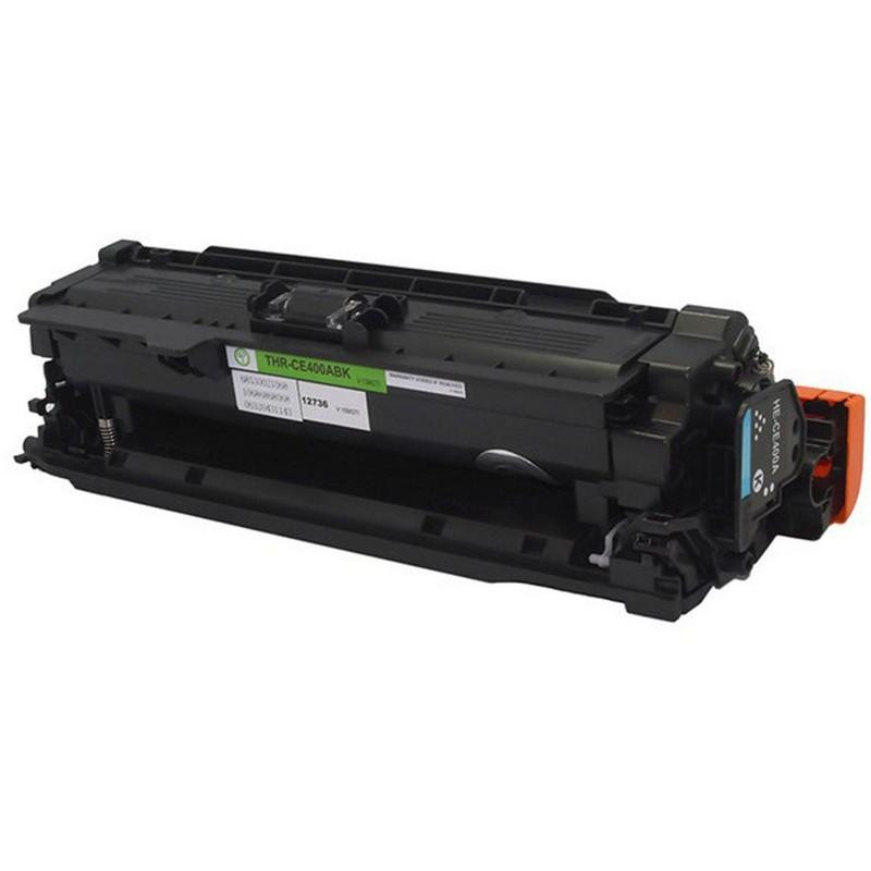 HP CE400A Black Toner Cartridge-HP 507A