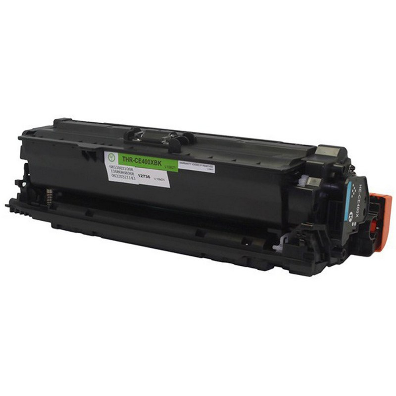 HP CE400X Black Toner Cartridge-HP 507X