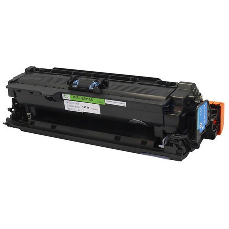 Set of 2 HP CE401A Cyan Toner Cartridge-HP 507A