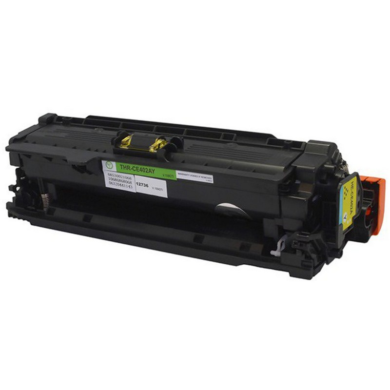 HP CE402A Yellow Toner Cartridge-HP 507A