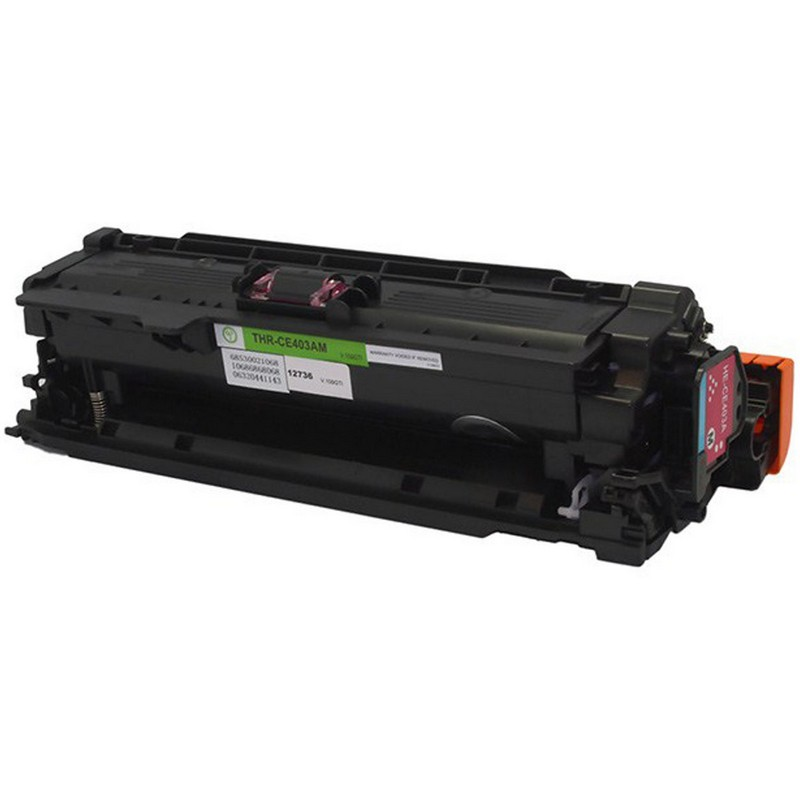 HP CE403A Magenta Toner Cartridge-HP 507A