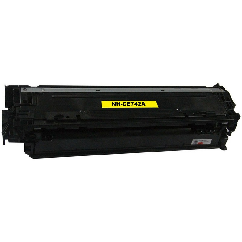 HP CE742A Yellow Toner Cartridge