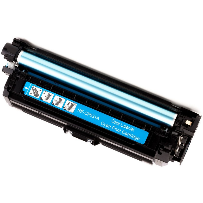 Cheap Set of 2 HP CF031A Cyan Toner Cartridge-HP 646A