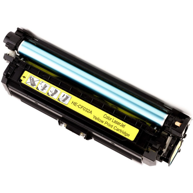 HP CF032A Yellow Toner Cartridge-HP 646A