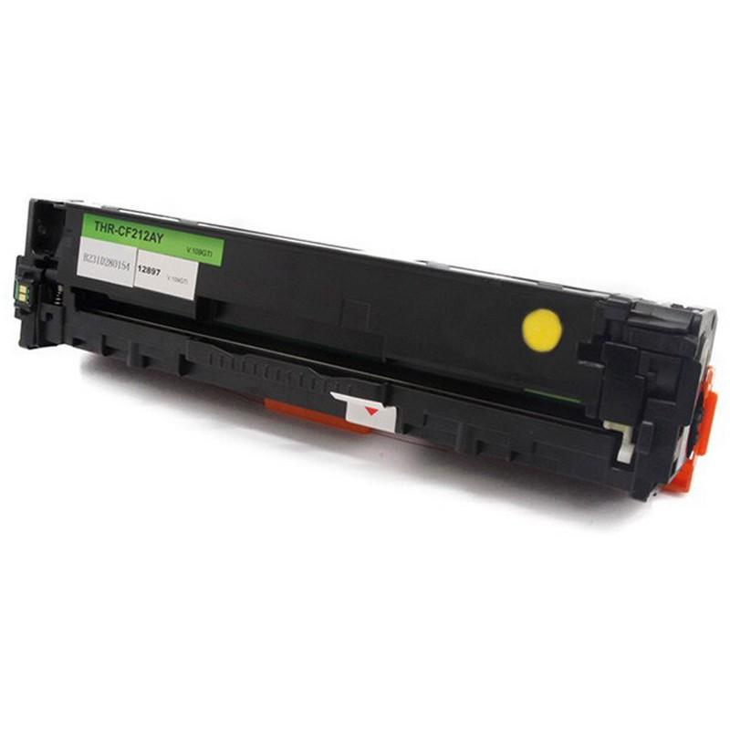 HP CF212A Yellow Toner Cartridge-HP 131A