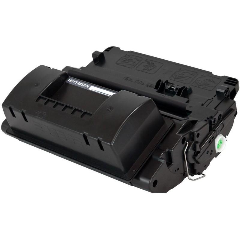 HP CF281X Black Toner Cartridge-HP 81X