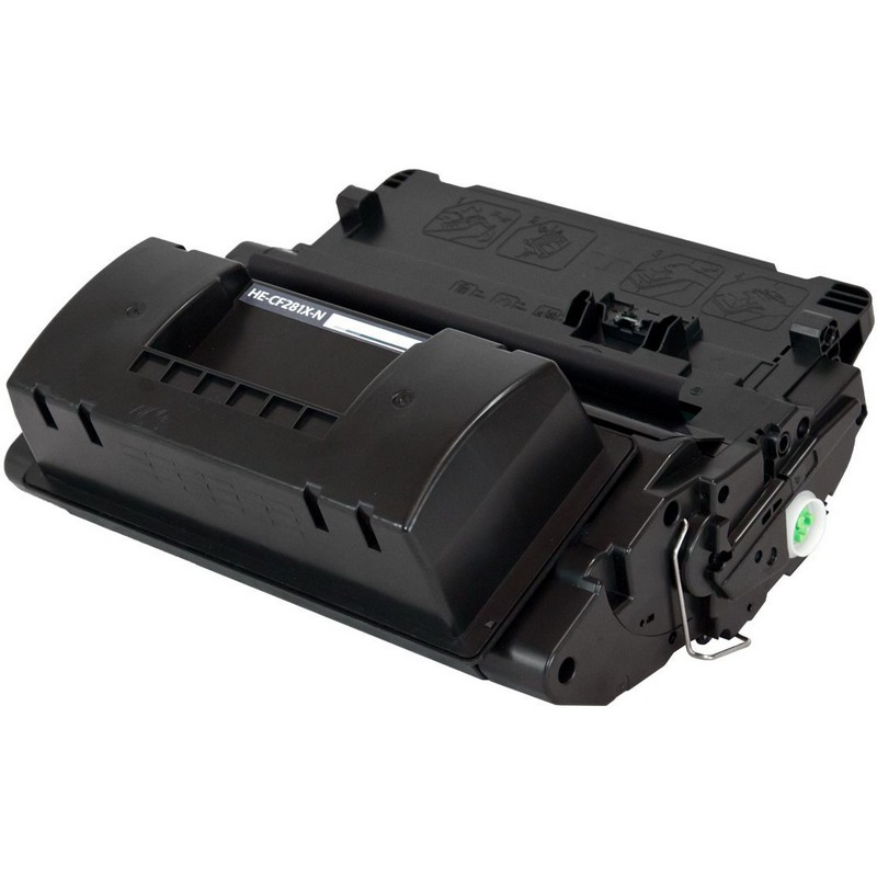 HP CF281X Black Toner Cartridge-HP 81X
