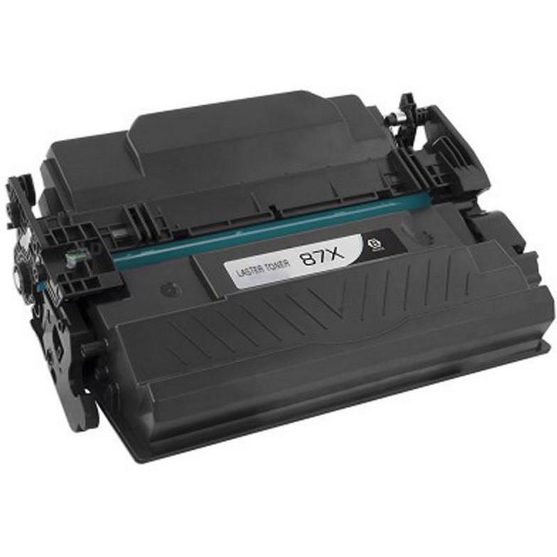 HP CF287X Black Toner Cartridge-HP 87X