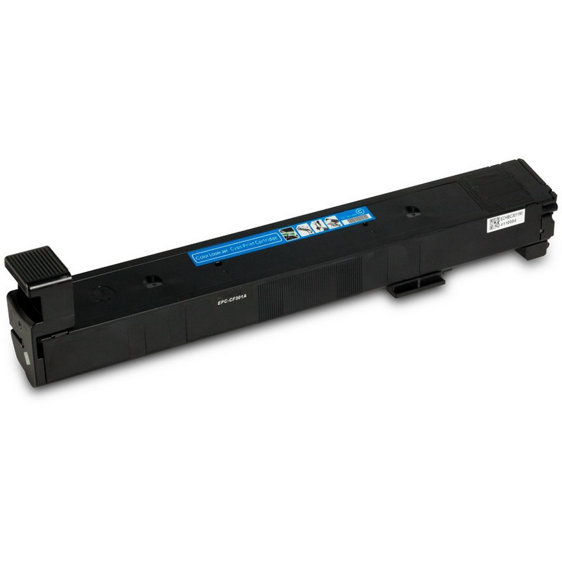 HP CF301A Cyan Toner Cartridge-HP 827A