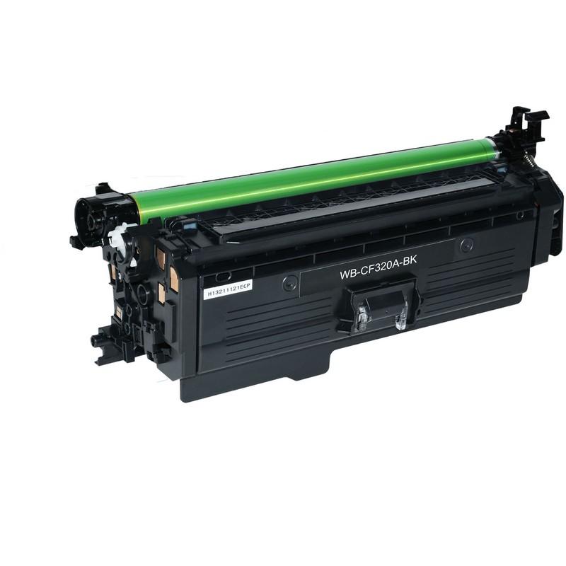 HP CF320A Black Toner Cartridge-HP 652A