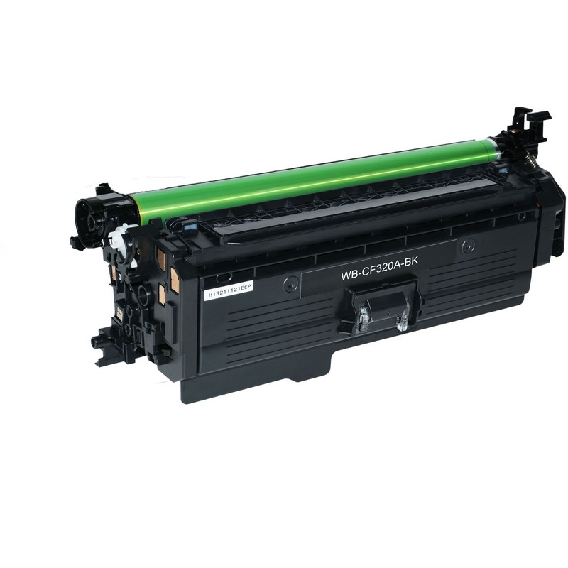 HP CF320A Black Toner Cartridge-HP 652A