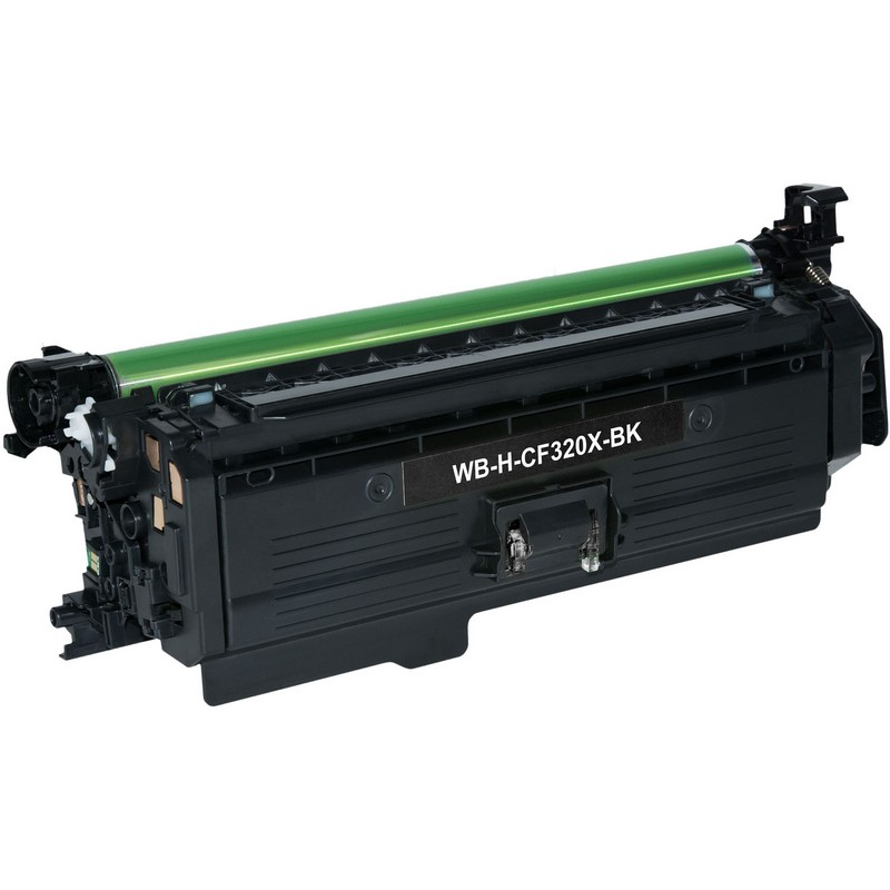 HP CF320X Black Toner Cartridge-HP 653X
