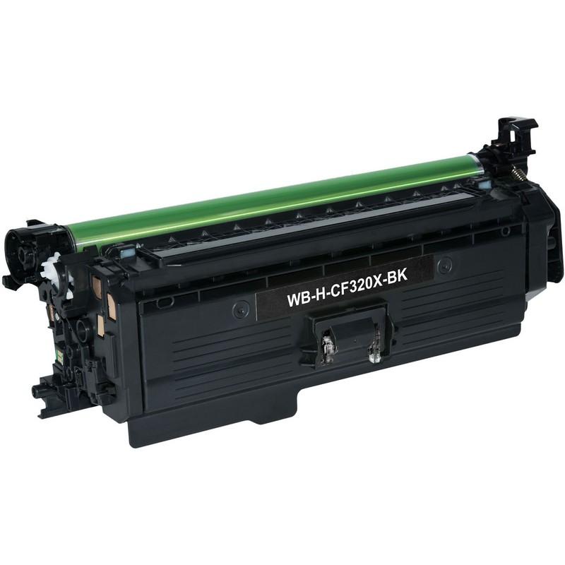 Cheap HP CF320X Black Toner Cartridge-HP 653X