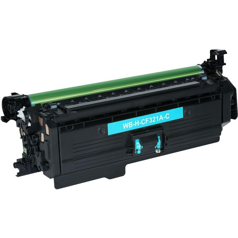 HP CF321A Cyan Toner Cartridge-HP 653A