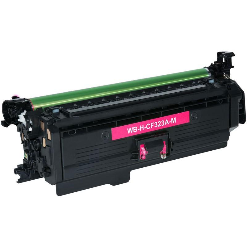 HP CF323A Magenta Toner Cartridge-HP 653A