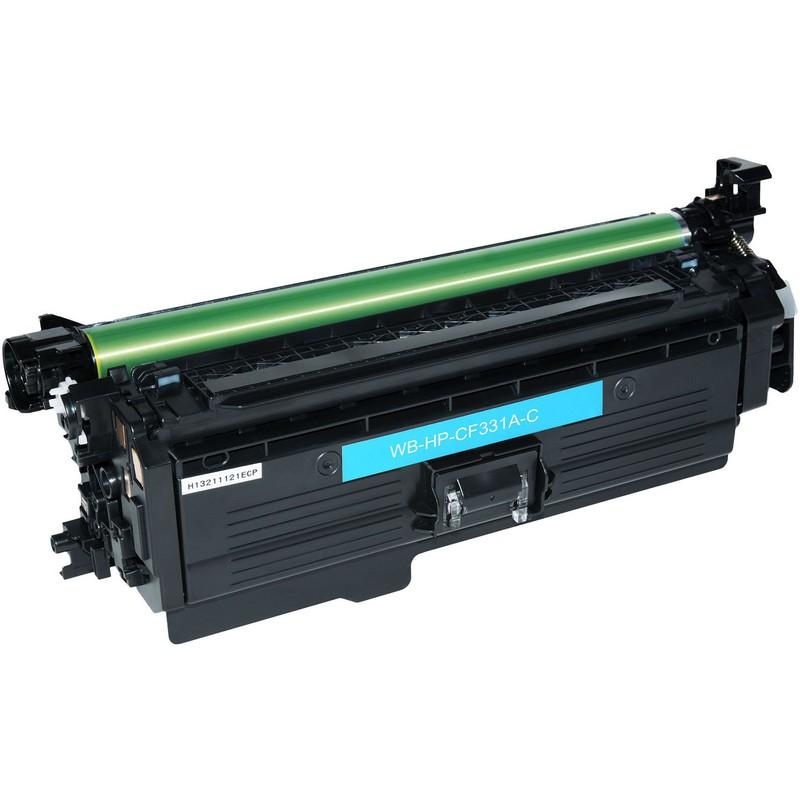 HP CF331A Cyan Toner Cartridge-HP 654A