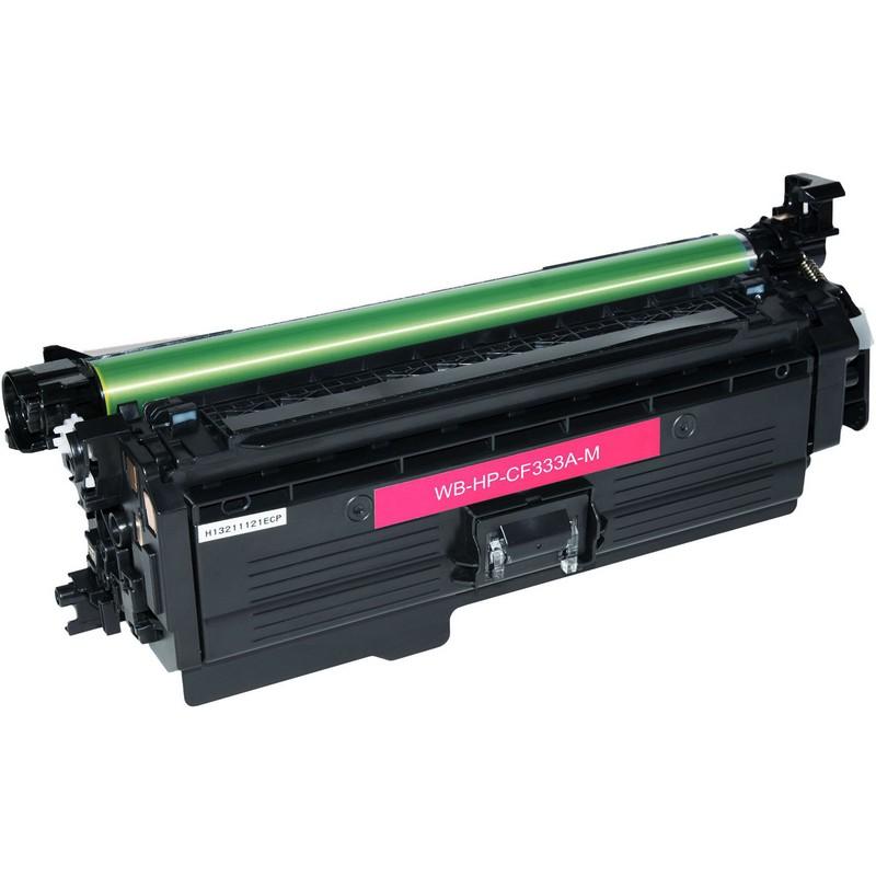 HP CF333A Magenta Toner Cartridge-HP 654A