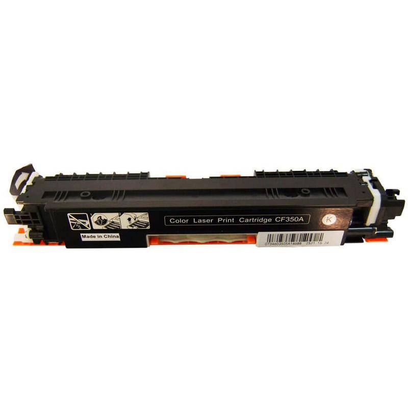 HP CF350A Black Toner Cartridge-HP 130A