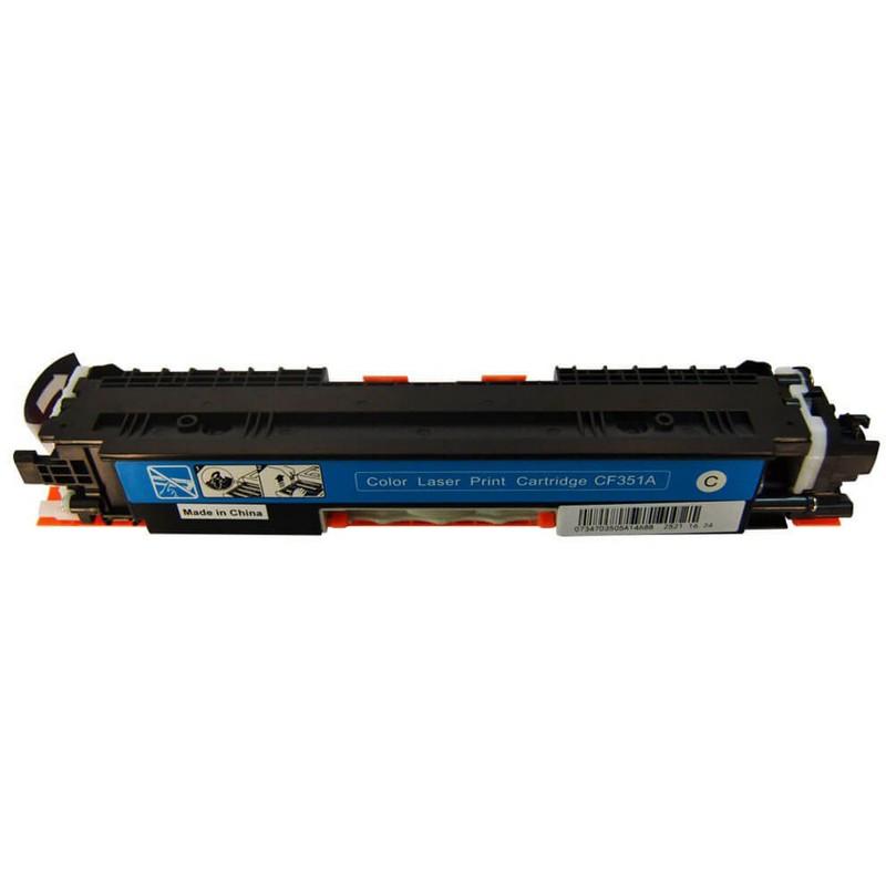 HP CF351A Cyan Toner Cartridge-HP 130A