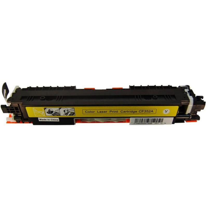 HP CF352A Yellow Toner Cartridge-HP 130A