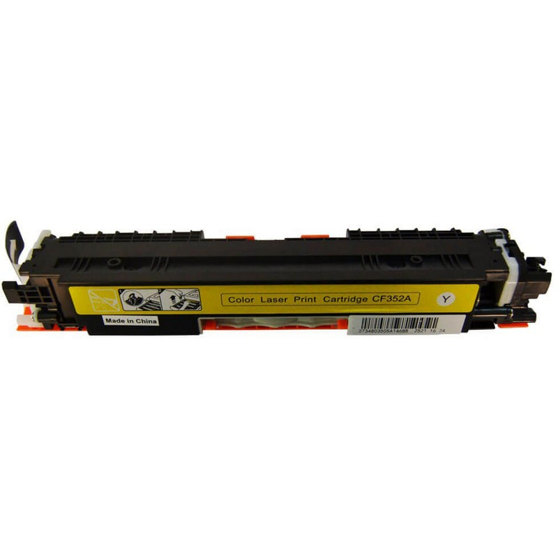 HP CF352A Yellow Toner Cartridge-HP 130A