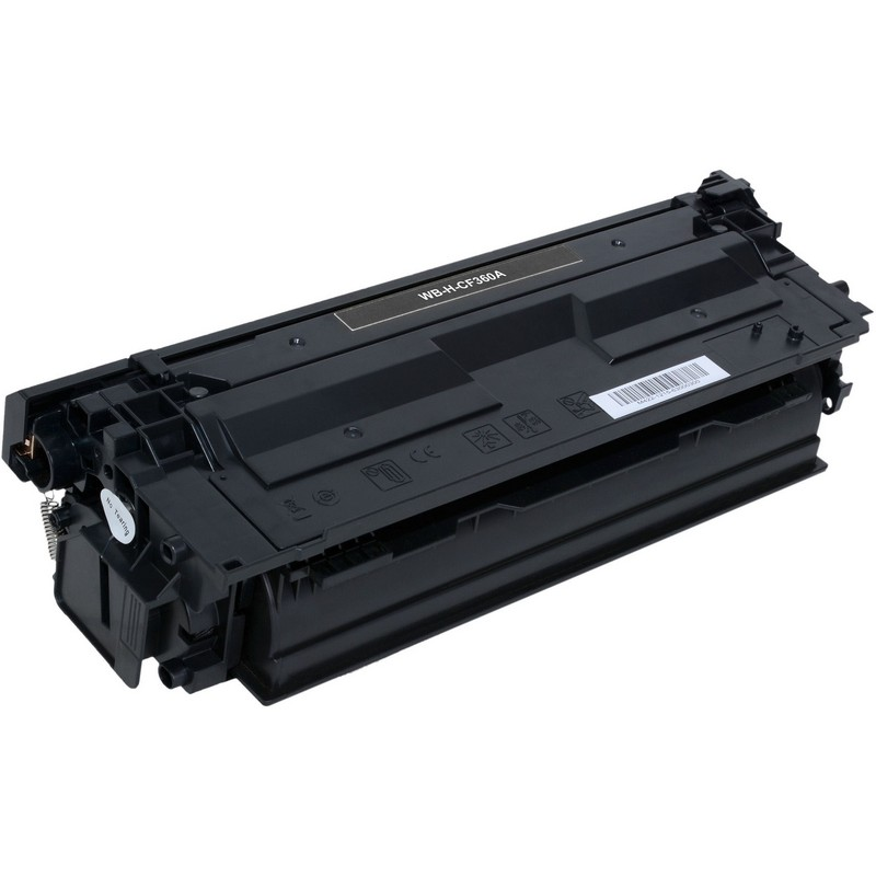 HP CF360A Black Toner Cartridge-HP 508ABK