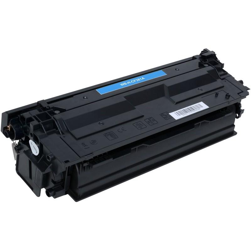 HP CF361A Cyan Toner Cartridge-HP 508AC