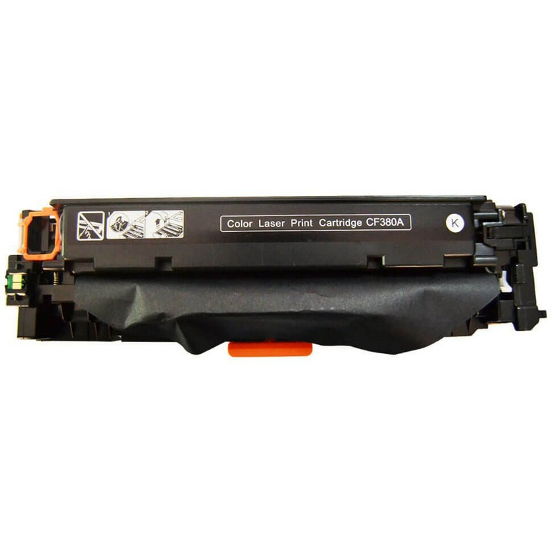 HP CF380A Black Toner Cartridge-HP 312A