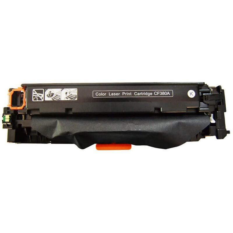 HP CF380A Black Toner Cartridge-HP 312A