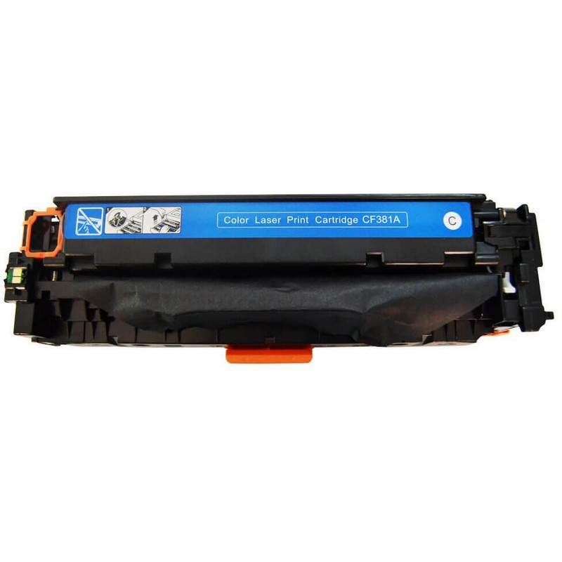 HP CF381A Cyan Toner Cartridge-HP 312A