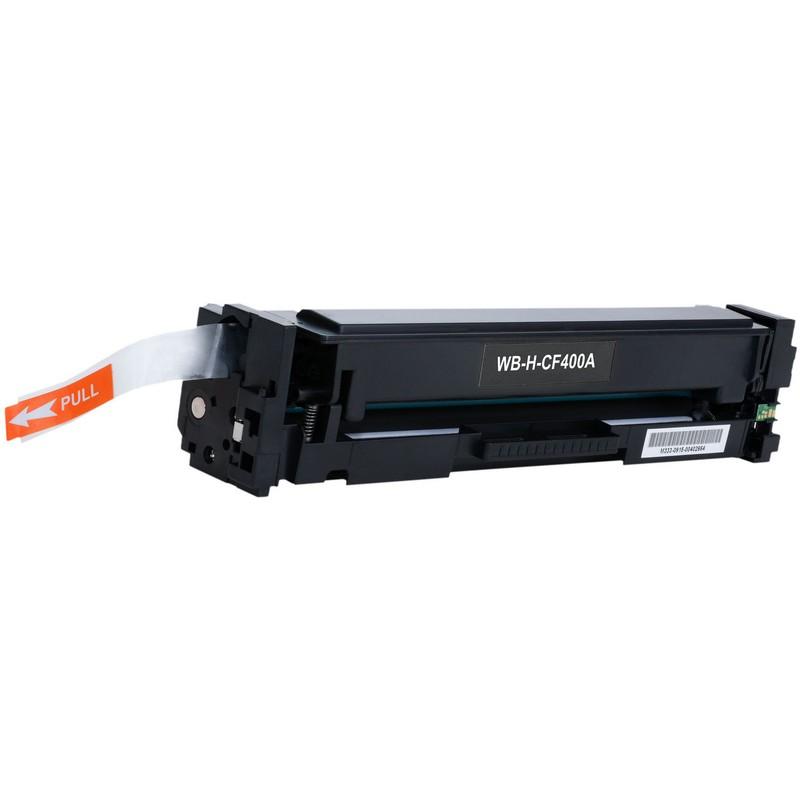 HP CF400A Black Toner Cartridge-HP 201ABK