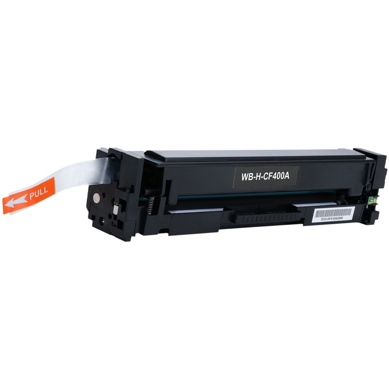 HP CF400A Black Toner Cartridge-HP 201ABK
