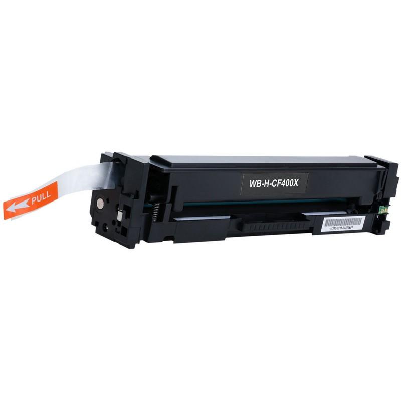 HP CF400X Black Toner Cartridge-HP 201XBK