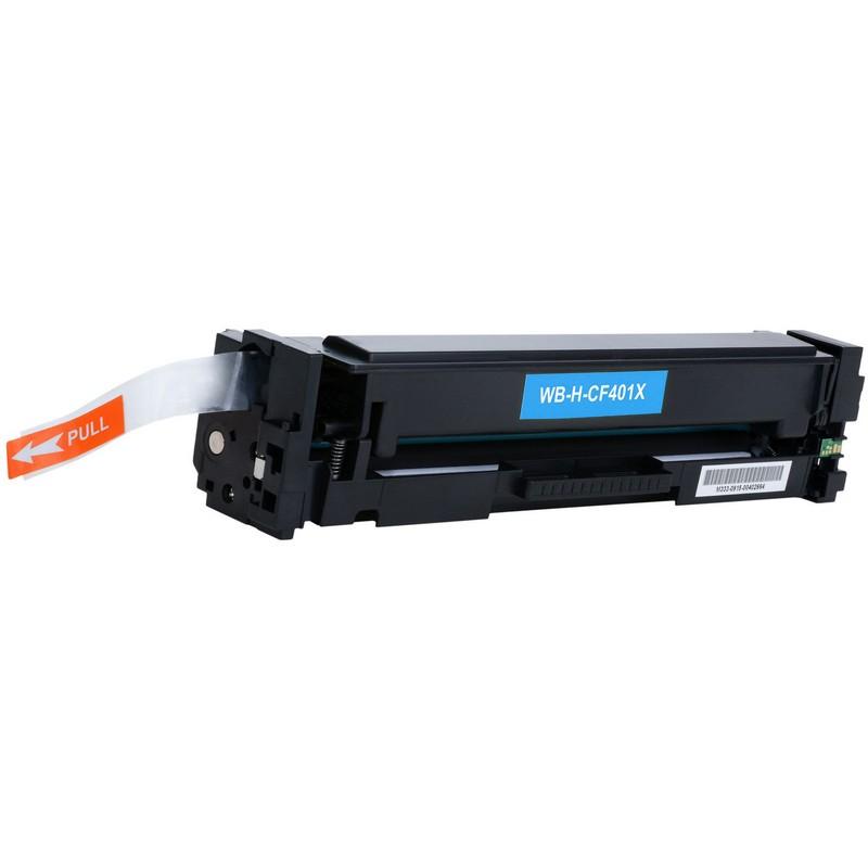HP CF401X Cyan Toner Cartridge-HP 201XC
