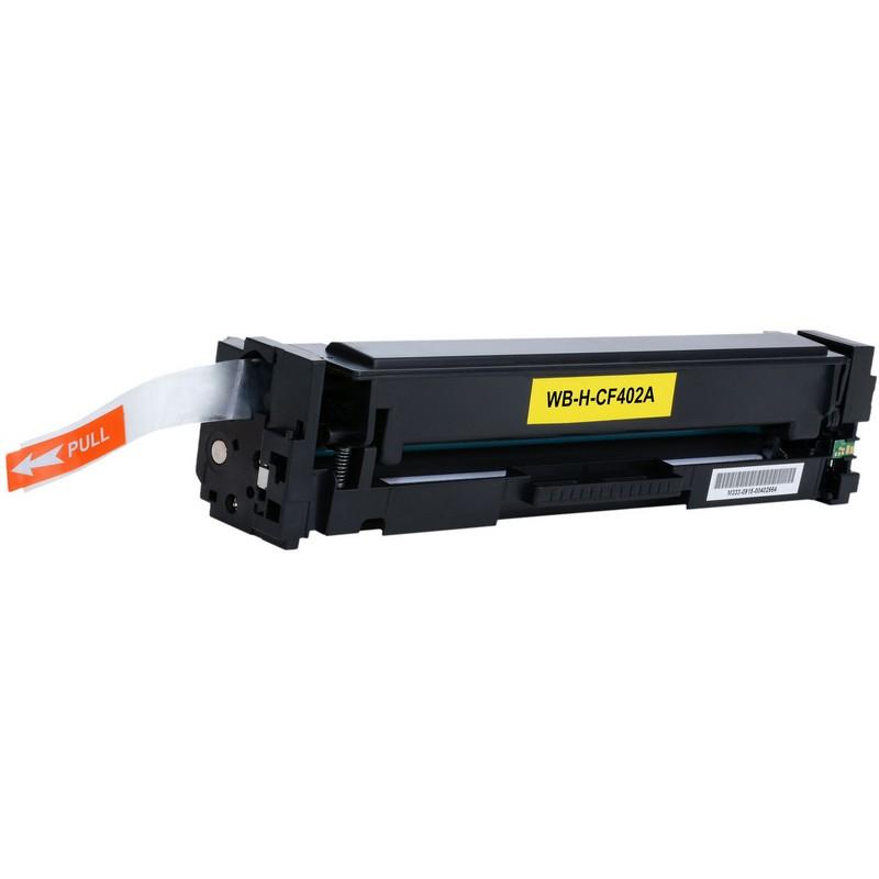 HP CF402A Yellow Toner Cartridge-HP 201AY