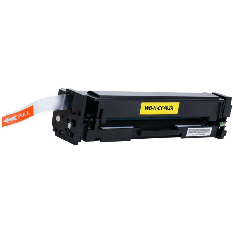 HP CF402X Yellow Toner Cartridge-HP 201XY