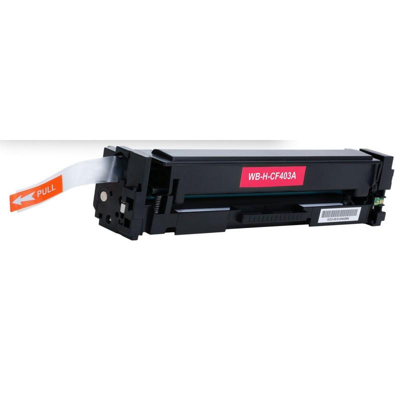HP CF403A Magenta Toner Cartridge-HP 201AM