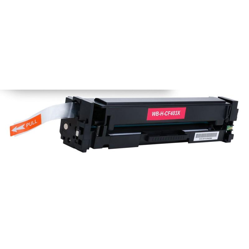 HP CF403X Magenta Toner Cartridge-HP 201XM